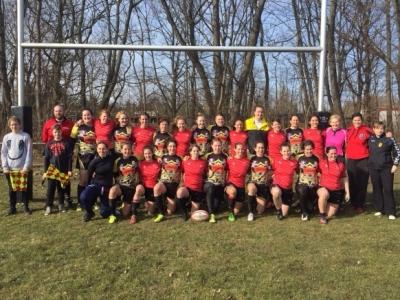 Der Berliner Rugby-Verband lädt die Frauennationalmannschaft aus Österreich ein