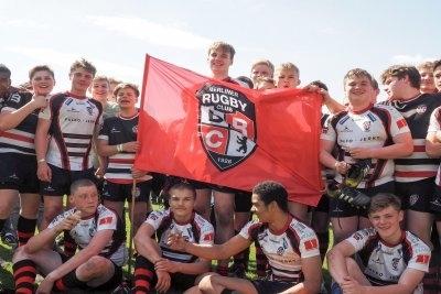 Die Deutschen Meister U16 - Berliner Rugby Club