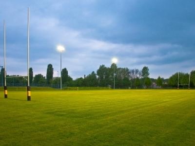 Das schmucke Stadion Buschallee ist Austragungsort der Sommer-Trainer-Lehrgänge