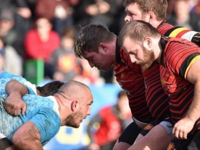 Gegen die vermeintlich haushoch überlegen bis zur letzten Minute im Spiel: Deutschlands kommender Gegner Belgien. Foto (c) Belgian Rugby