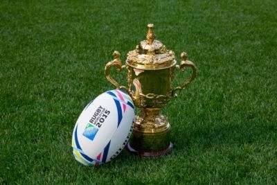 Den Kampf um die Webb Ellis Trophy können die Rugby-Fans live auf der WM-Party in der Nordkurve verfolgen