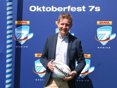 DHL Oktoberfest 7s Geschäftsführer und Ex-RGH-Verbinder Michael Weber stand uns 50 Tage vorm Auftakt zur Wiesn-Rugby-Gaudi ausführlich Rede und Antwort.