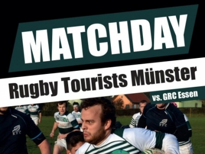 Matchday am Samstag, den 25.4.2015, um 16 Uhr am Pleistermühlenweg 119 in Münster!