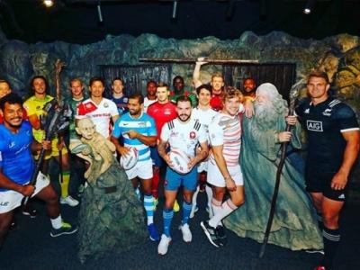 Im Land des Buch- und Filmklassikers Herr der Ringe gab es nicht das übliche Foto der Mannschaftskapitäne. Foto (c) World Rugby Instagram