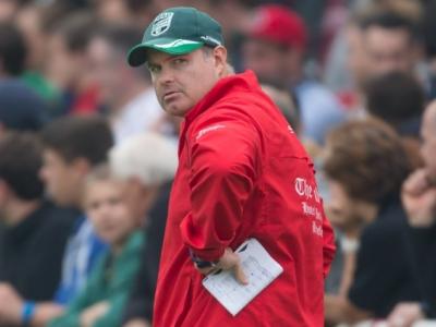 DRV-Nationaltrainer Kobus Potgieter war in der ersten Halbzeit mit seiner Mannschaft alles andere als zufrieden (c) Jürgen Keßler