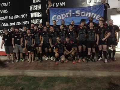 Trotz der Niederlage gegen Namibia mit erhobenem Kopf: Die detsche Rugby-Nationalmannschaft