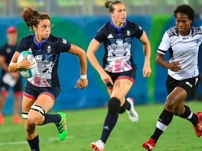 Team GB war für die Ladies aus Fidschi eine Nummer zu groß. Foto (c) ProDirect Rugby