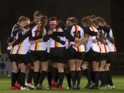 Deutschlands Damen beim EM-Turnier in Belgien. Keine Chance gegen die übermächtigen Spanierinnen.