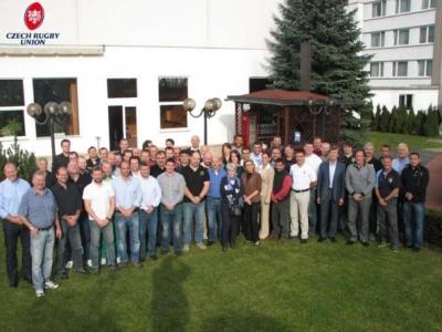 Die Teilnehmer der FIRA-Tagung in Prag
