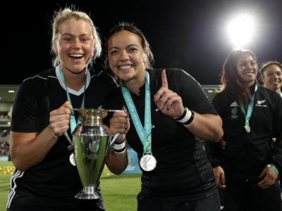 Neuseelands Damen sicherten sich im Finale von Belfast die Krone im Frauen-Rugby
