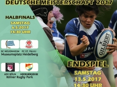 Halbfinale: 6. Mai 2017 in Heidelberg und Köln, Finale: 13. Mai 2017 in Heidelberg