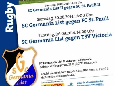 Vorschau Germania Spieltage