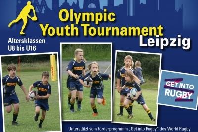 Olympic Youth Tournament Leipzig beim Rugby Club Leipzig für Mannschaften der Altersklassen U8 bis U12.
