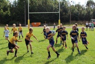 Das Spiel der Kids im Rahmen des Olympic Youth Tournament Leipzig © Urbansky/RCL
