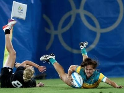 Australiens Offensive um Charlotte Caslick war für Neuseeland nie unter Kontrolle zu bringen. Foto (c) World Rugby