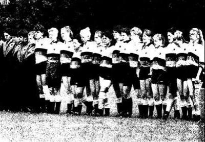 Deutsche Frauennationalmannschaft 1989