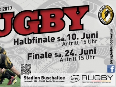 Gleich zwei Finalspiele im Stadion Buschallee warten auf die deutsche Rugby-Community im Juni