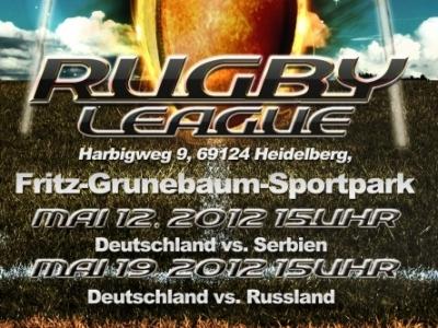 Das ultimative Rugby League Highlight im Mai, die Heimspiele der Nationalmannschaft