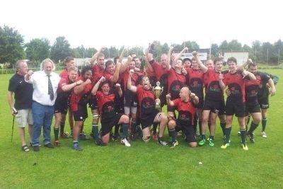 Der Heidelberger TV ist der DRV-Pokalsieger 2014 (c) HTV