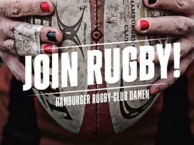 Die Damen des Hamburger Rugby-Clubs suchen Verstärkung Grafik:  HRC
