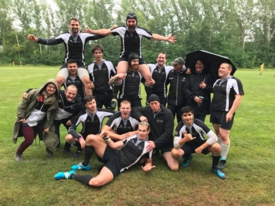 Scorpions 7er-Team nach dem dritten Platz in der Mitteldeutschen 7er-Liga