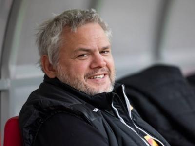Nationaltrainer Pablo Lemoine hat sich auf eine Startaufstellung für das schwere Auswärtsspiel in Brüssel festgelegt. Foto (c) Keßler