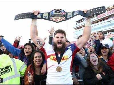Heim-Triumph für die US-Boys in Vegas. Der andere ovale Ballsport ist in den USA weiter auf Wachstumskurs. Foto (c) World Rugby Instagram