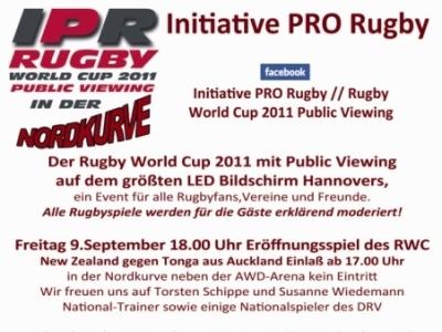 Die Chance für Hannover\'s Rugby,macht mit !!!