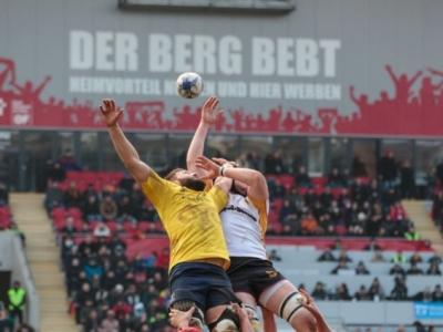 Morgen muss der Bieberer Berg wieder beben. Deutschlands Rugby-Fans müssen - ob im Stadion oder am TV - zusammen hinter der deutschen Mannschaft stehen! Foto (c) Seufert-Chang