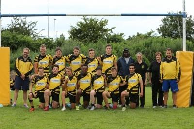 Die Mannschaft vom Rugby-Verband Baden-Württemberg (RBW).