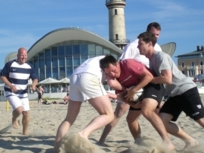 Beachrugby Turnier in Rostock-Warnemünde 2019