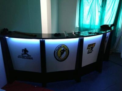 Das neue Klubhaus des RK 03 hat so einiges zu bieten