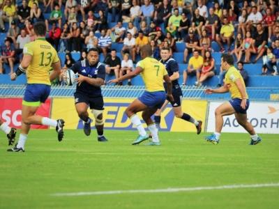 Gegen die US-Boys hatten die Brasilianer am Samstag keine Chance, der ovale Ballsport ist in Brasilien dennoch im Kommen. Foto (c) Stefan v.d. Hoek