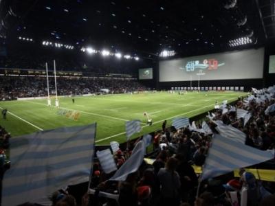 Das erste Hallenstadion im Rugby überhaupt - die Pariser U Arena
