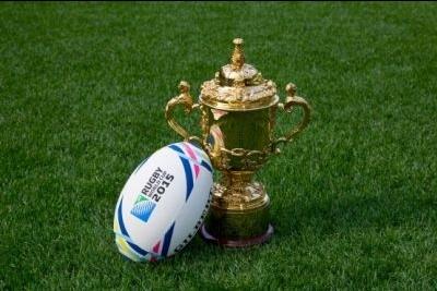 Der Webb Ellis Cup tourt durch Deutschland (c) DHL Rugby