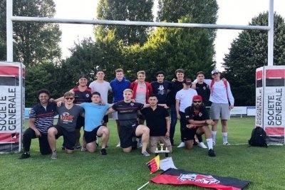 U18-Team des SC 1880 Frankfurt. - Quelle: Facebook SC 1880 Frankfurt