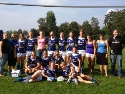 Die SCN-Mannschaft beim ersten 7er-Liga Turnier