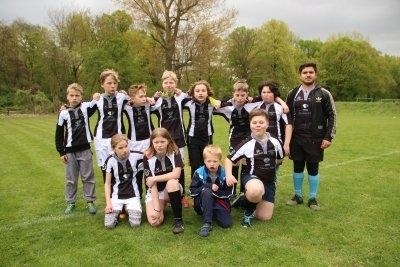 Das Team der Spielgemeinschaft Leipzig Scorpions, Gera und Halle.