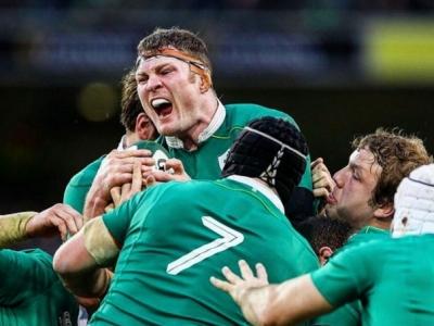 Irlands Rugby Nationalmannschaft, hinter den eigenen Erwartungen, doch am Ende gegen England siegreich!
