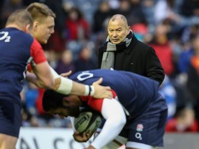 Erfolgreicher Auftakt für Englands neuen Trainer Eddie Jones (Foto: Jürgen Keßler)