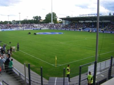 Im 12.600 Zuschauer fassenden Frankfurter Volksbank Stadion wird die DRV XV auf den WM-Teilnehmer Uruguay treffen
