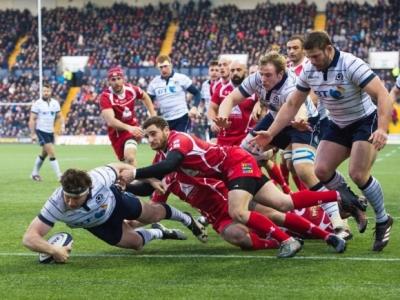 Beim deutlichen Sieg der Schotten gegen Georgien im November konnten die Bravehearts auch offensiv überzeugen. Foto (c) SRU Instagram