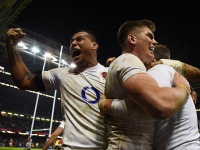 Erneut siegt England spät und jubelt über den 16. Sieg in Folge. Foto (c) RFU Instagram
