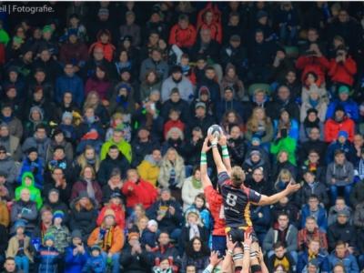 In den vergangenen beiden Jahren wurde in Köln vor ausverkauftem Haus ein wahres Rugby-Fest zelebriert. Foto (c) Tobias Keil