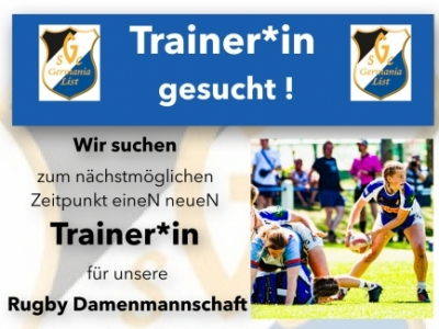 Germania List sucht eineN NachfolgerIn für das Frauenrugbyteam