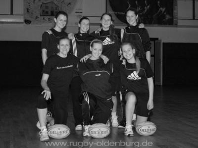 Trainingsauftakt für die ersten Rugbydamen von Oldenburg