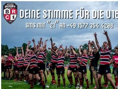 Mit einer SMS die BRC-U18 auf die Siegerstraße führen und selber VIP-Wohlfühl-Wochenende gewinnen.