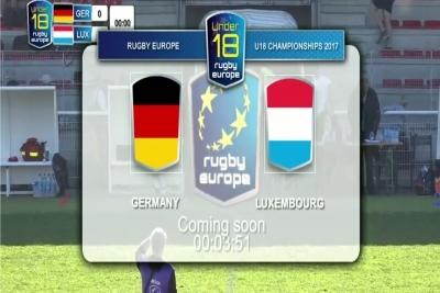 Die DRJ-Auswahl traf im ersten Match auf Luxemburg.