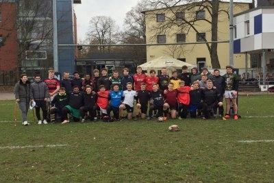 U18-Kader im Rahmen der Vorbereitung in Heidelberg