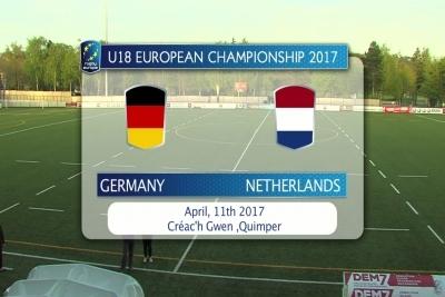 Die DRJ-Auswahl traf im zweiten Match auf die Niederlande.